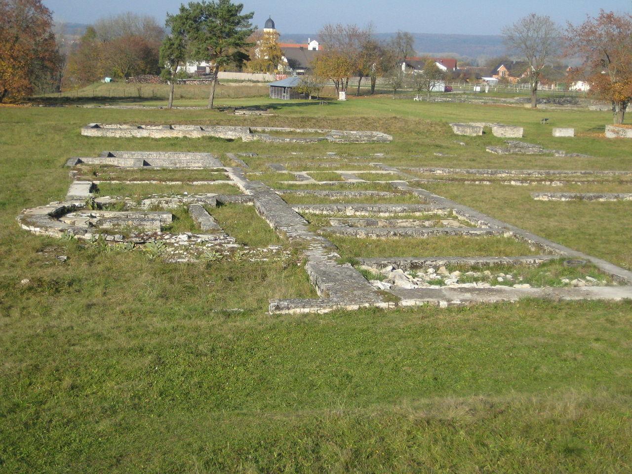 Bild Römerkastell Abusina Einig