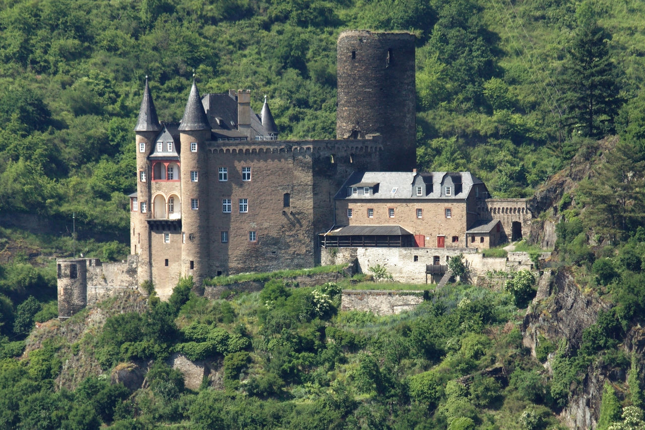 Bild Burg Katz St. Goarshausen