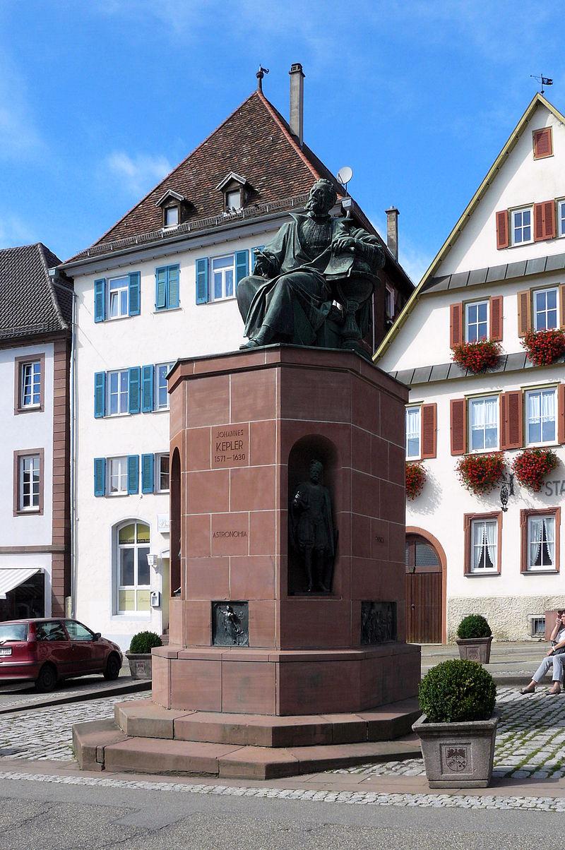 Bild Keplerdenkmal Weil der Stadt