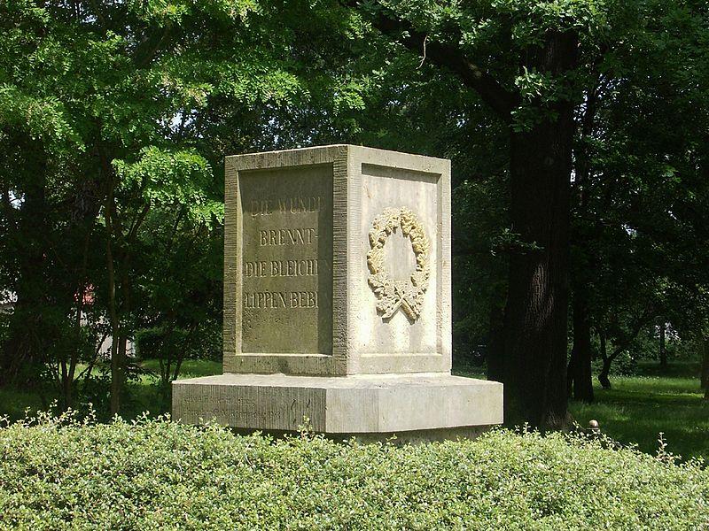 Bild Körner Denkmal Kitzen