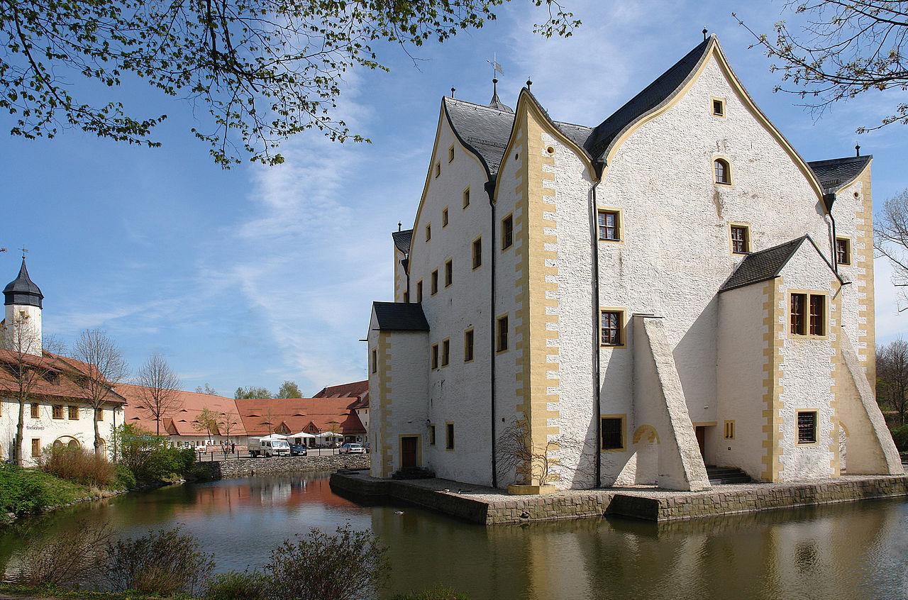 Bild Wasserschloß Klaffenbach Chemnitz