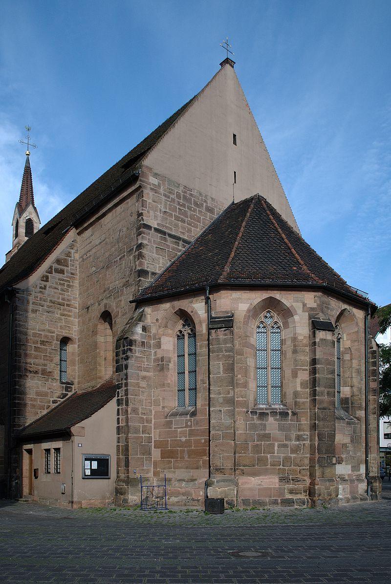 Bild Kirche St. Klara Nürnberg