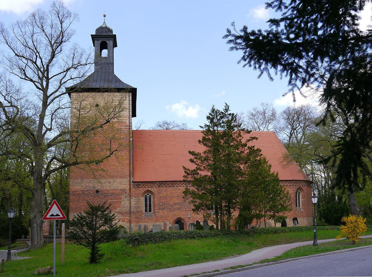 Bild Dorfkirche Kleinmachnow