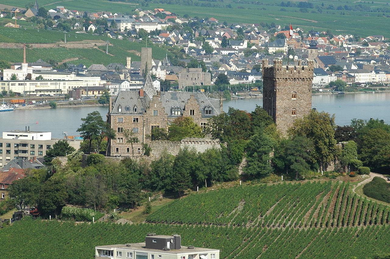 Bild Burg Klopp Bingen
