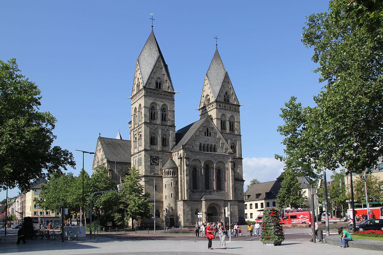 Bild Herz Jesu Kirche Koblenz