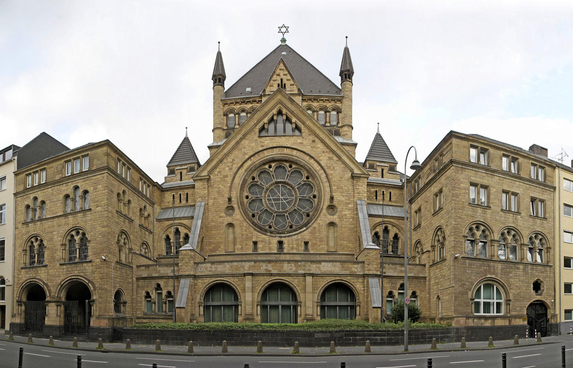 Bild Synagoge Roonstraße Köln