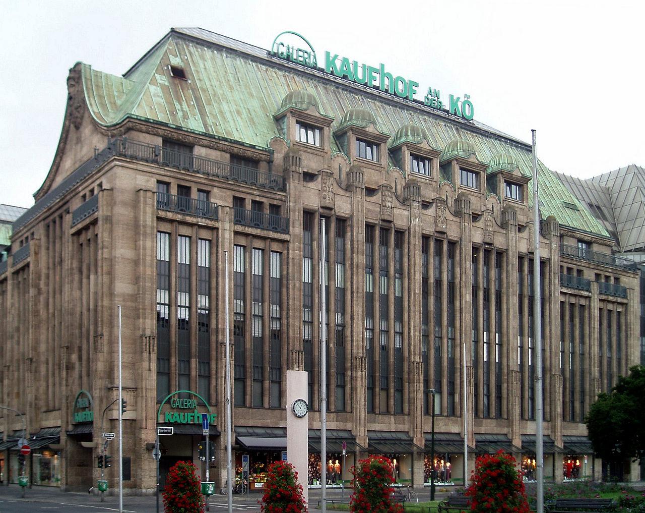 Bild Warenhaus Tietz Düsseldorf