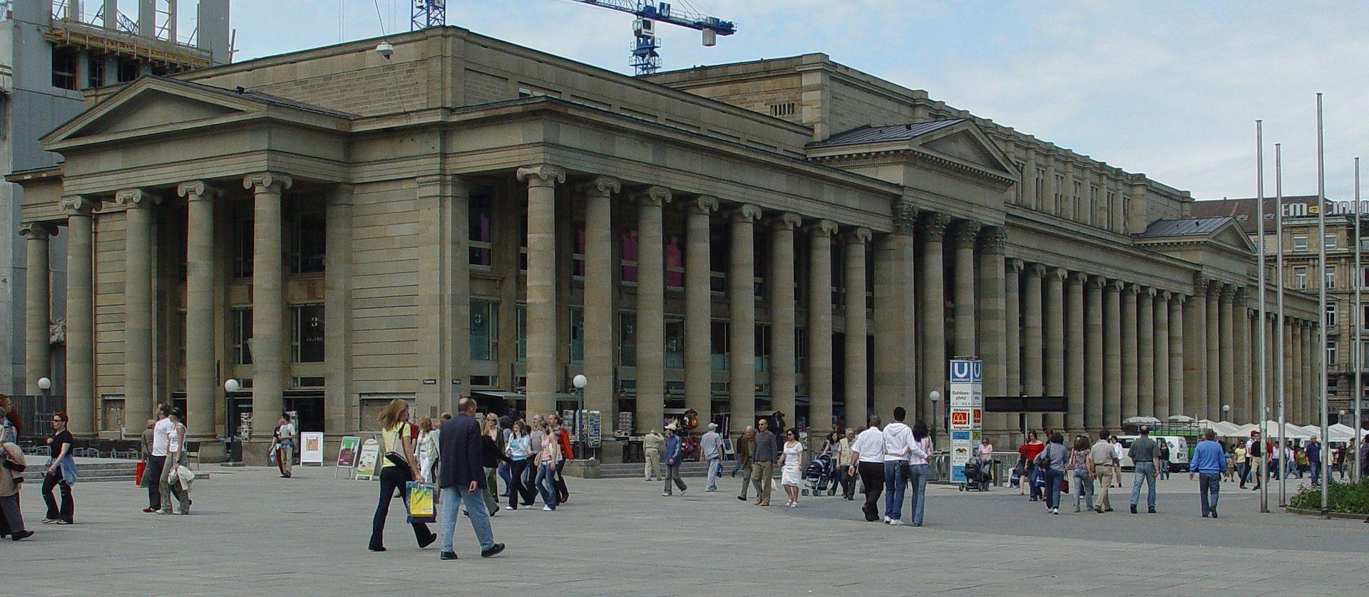 Bild Königsbau Stuttgart