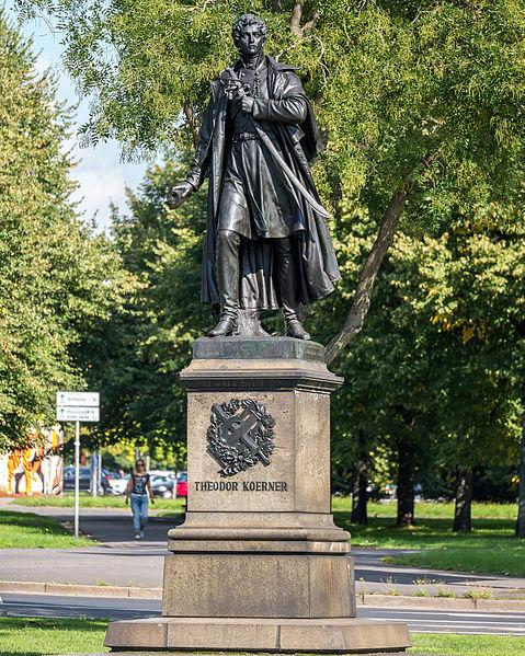 Bild Theodor Körner Denkmal Dresden