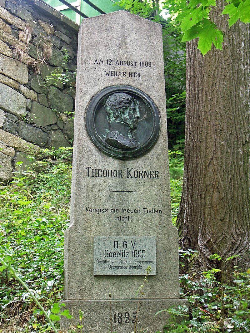 Bild Körner Denkmal Landeskrone Görlitz