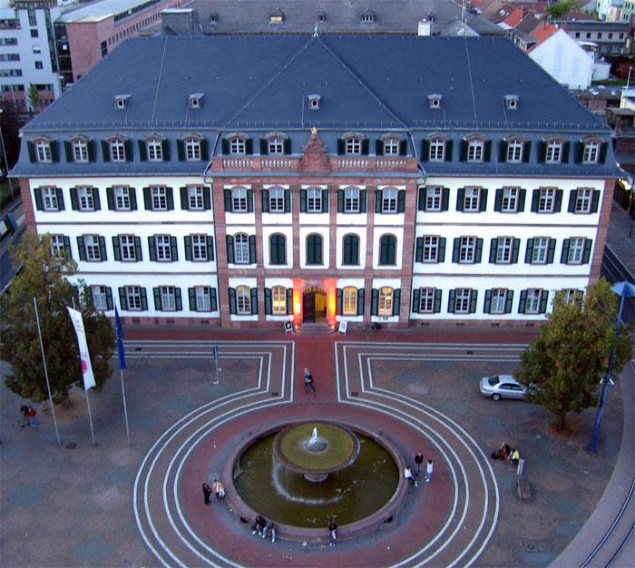 Bild Kollegiengebäude Darmstadt