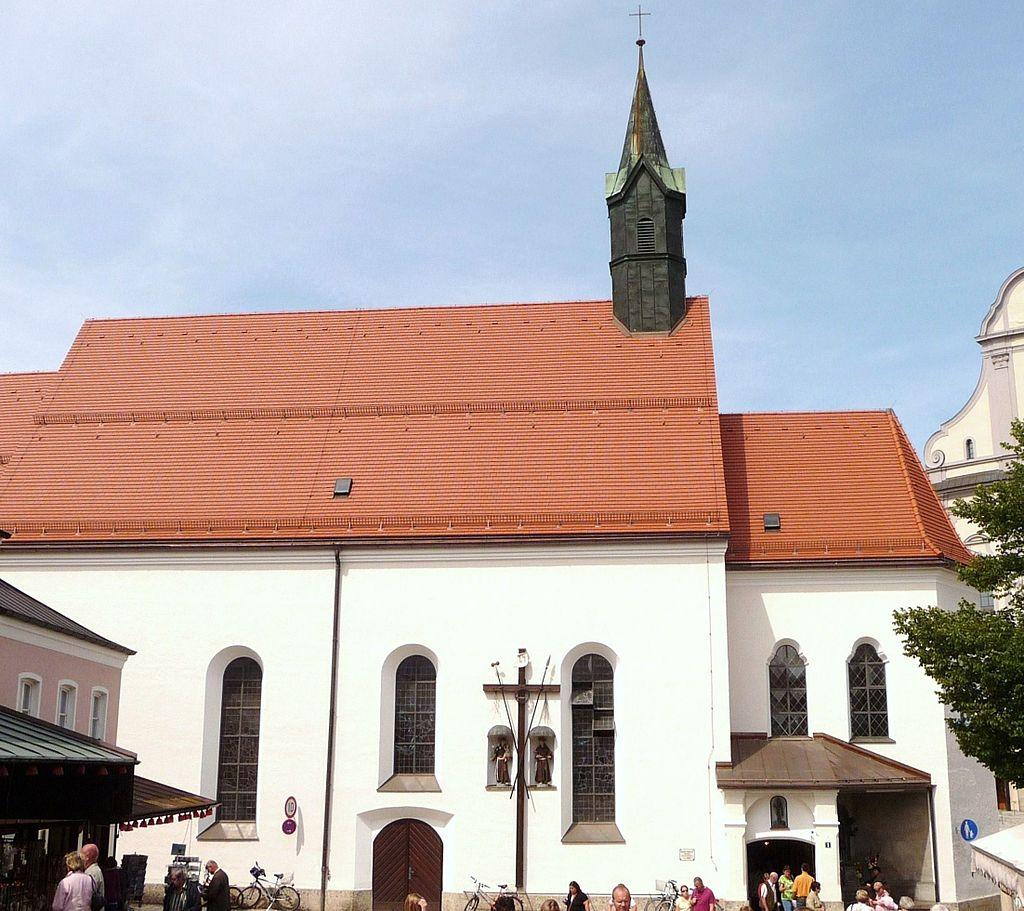 Bild St. Konrad Kirche und Kloster Altötting