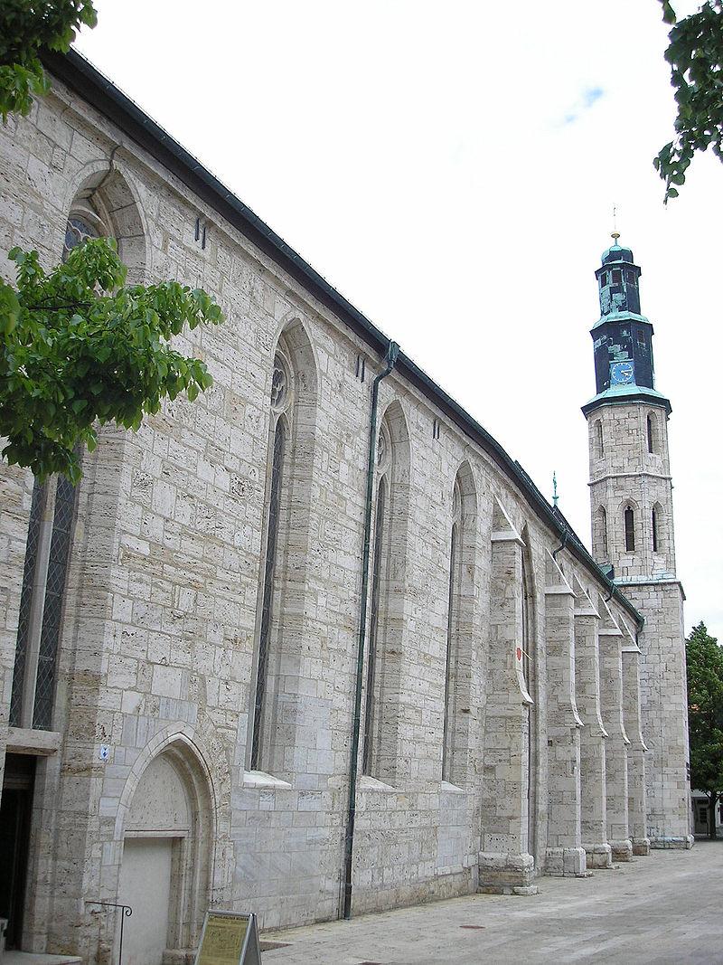 Bild Bauernkriegsmuseum Kornmarktkirche Mühlhausen