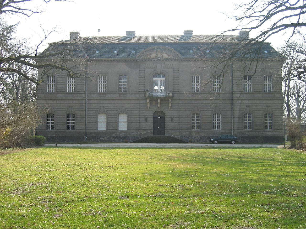 Bild Schloss Kossenblatt Tauche