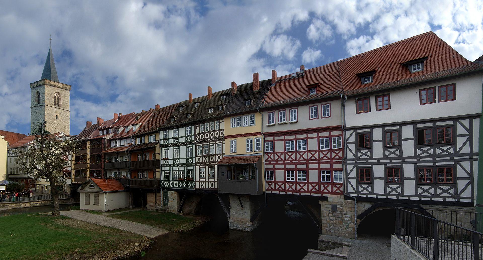 Bild Krämerbrücke Erfurt