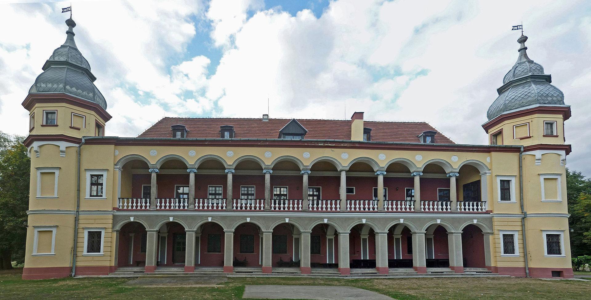 Bild Schloss Krieblowitz