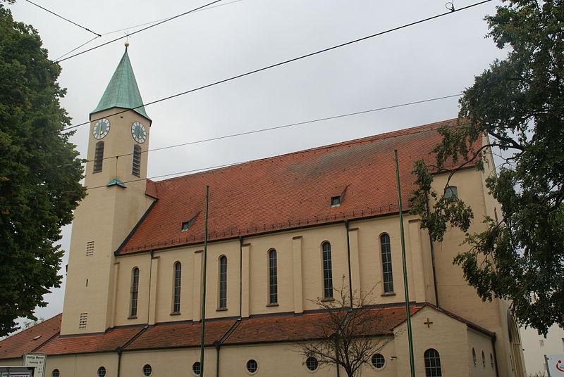 Bild Kirche Heiligste Dreifaltigkeit Augsburg