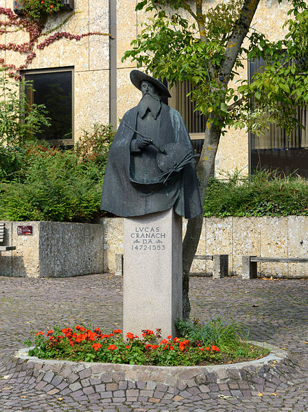 Bild Cranach Denkmal Kronach
