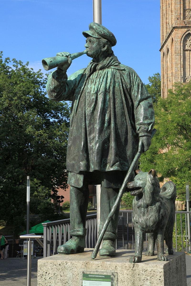 Bild Kuhhirten Denkmal Bochum
