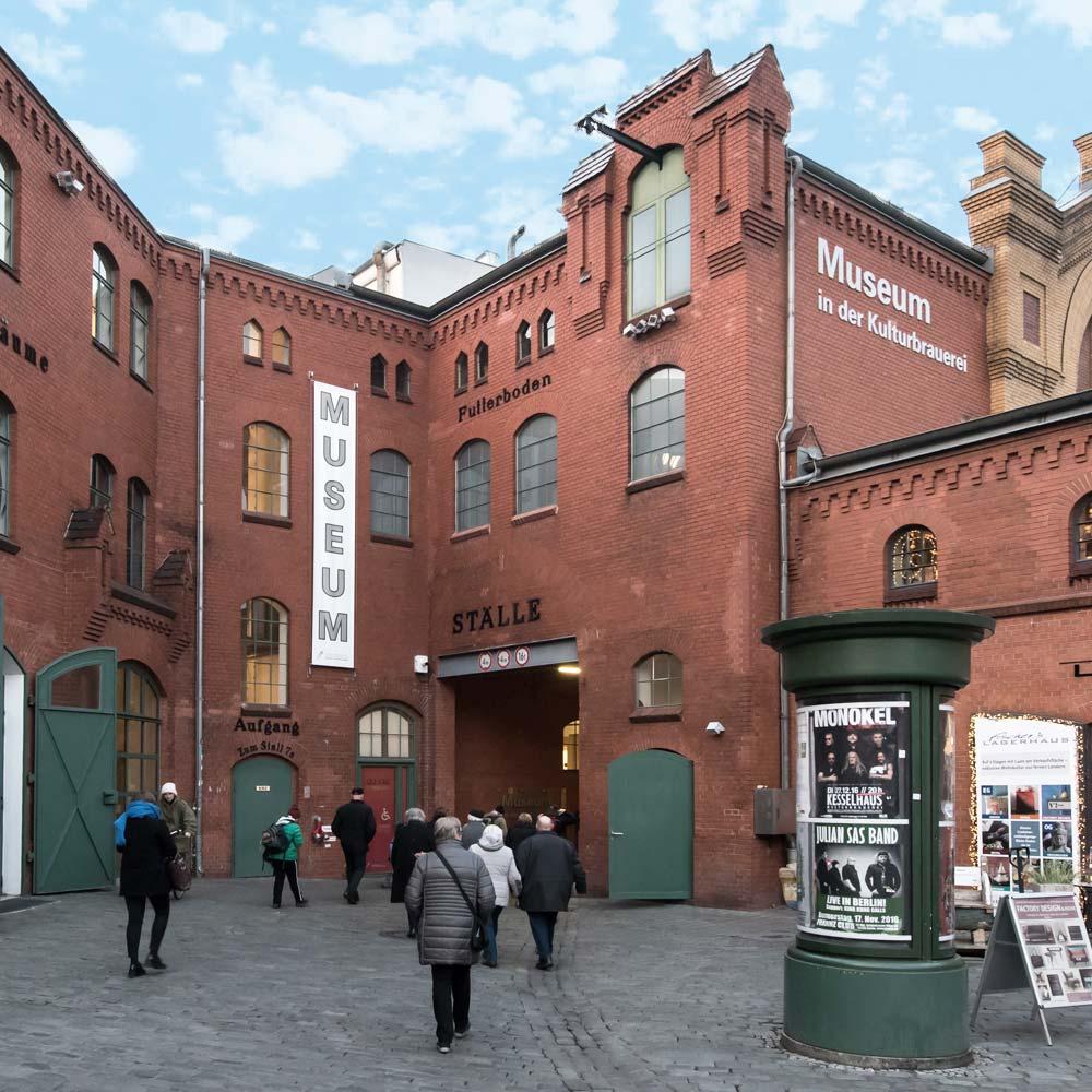 Bild Stiftung Haus der Geschichte Kulturbrauerei Berlin
