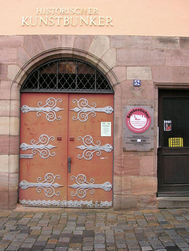 Bild Historischer Kunstbunker Nürnberg
