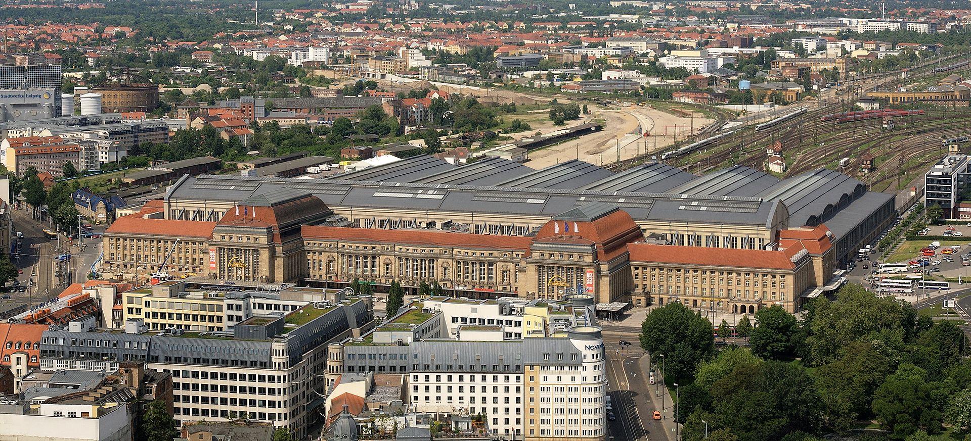 Bild Hauptbahnhof Leipzig
