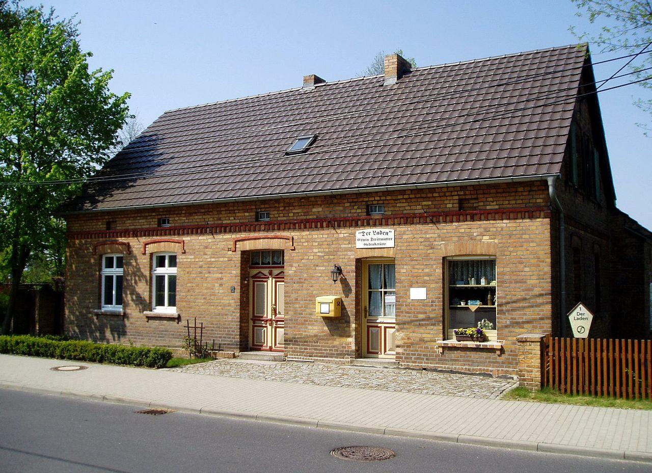 Bild Erwin Strittmatter Haus Bohsdorf
