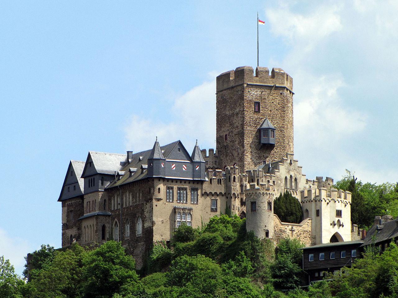 Bild Burg Lahneck Lahnstein