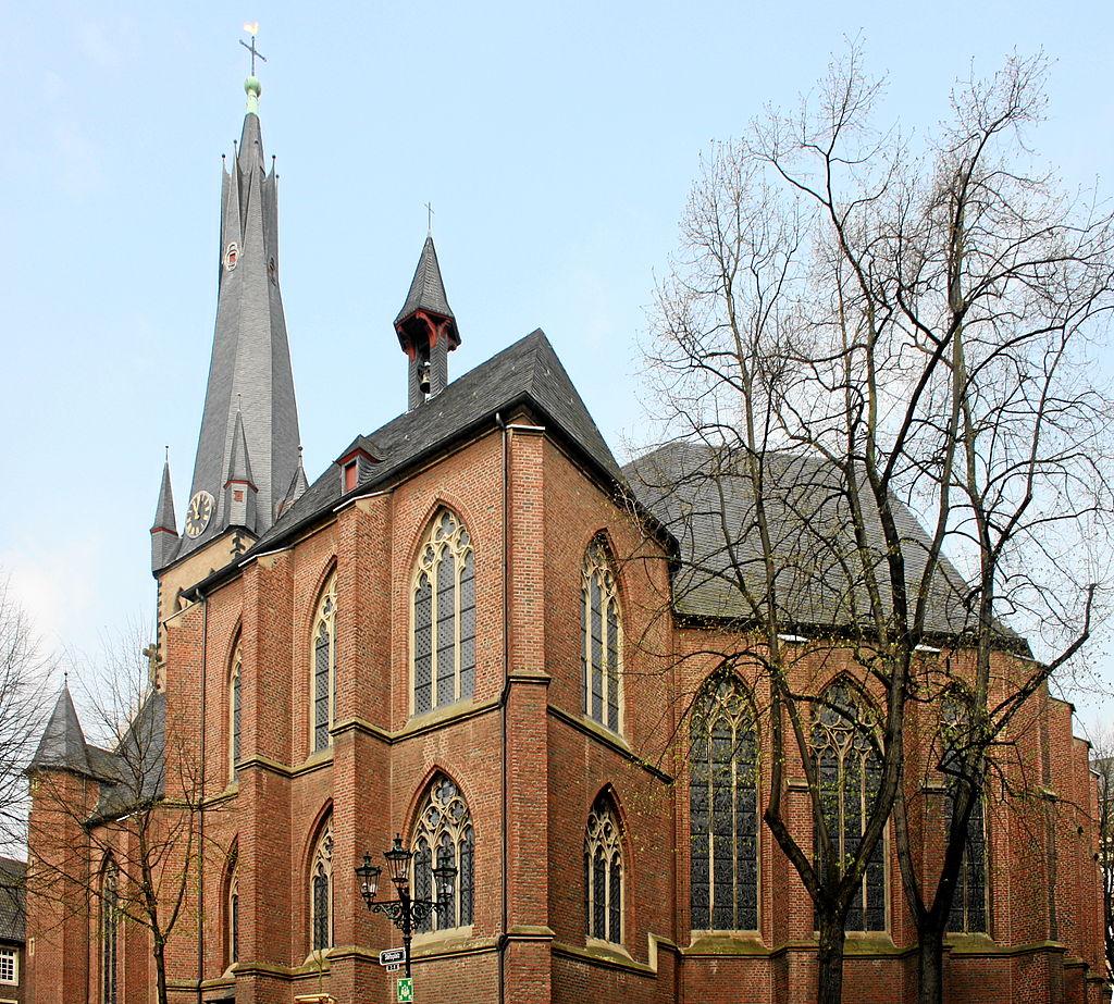 Bild Kirche St. Lambertus Düsseldorf