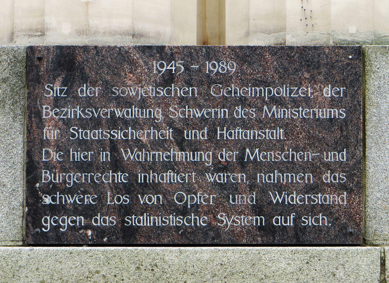 Bild Dokumentationszentrum des Landes für die Opfer der Diktaturen in Deutschland Schwerin