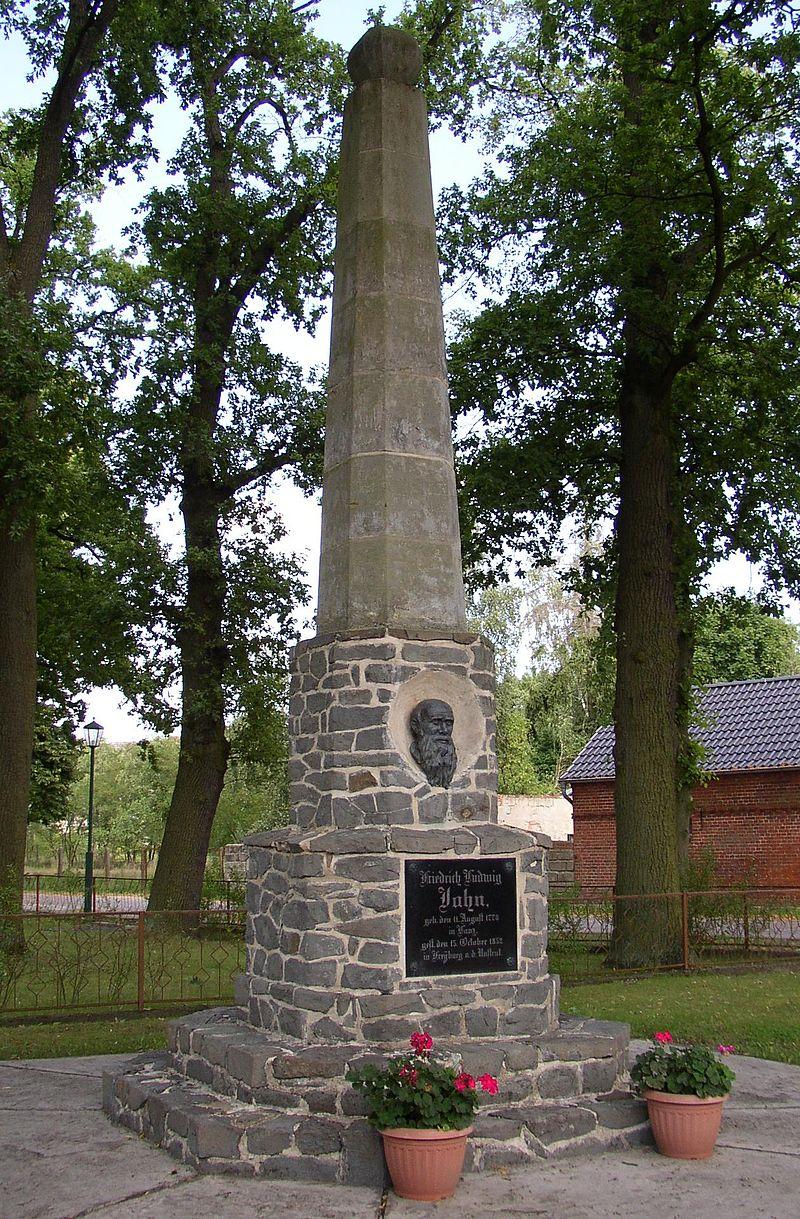 Bild Jahn Denkmal Lanz