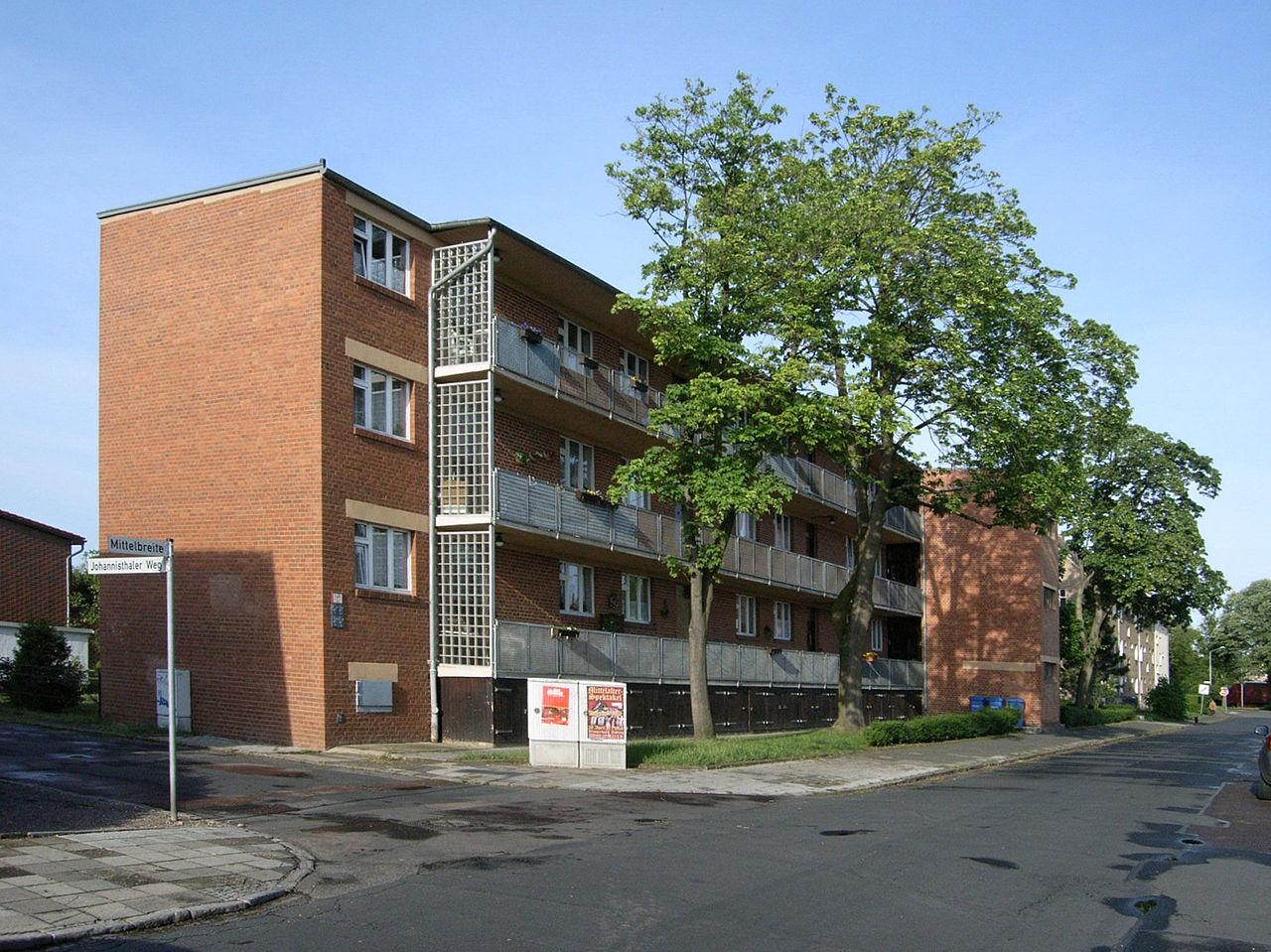 Bild Laubenganghäuser Dessau