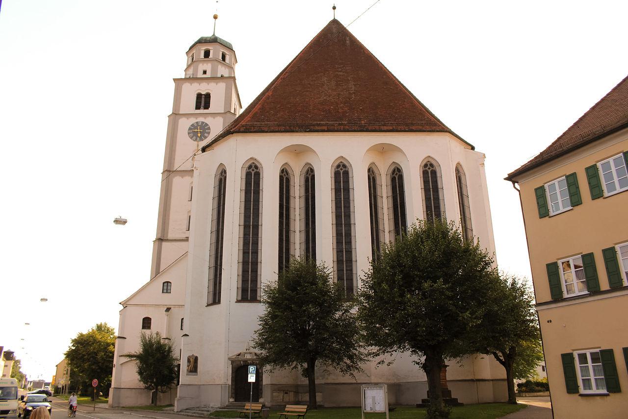 Bild St. Martinsmünster Lauingen