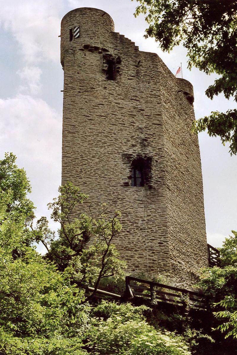 Bild Burg Laurenburg