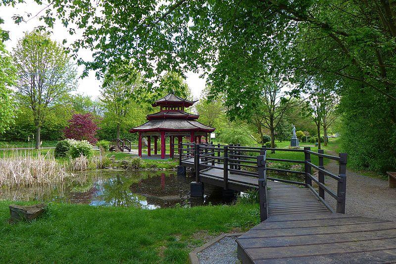 Bild Asiatischer Garten Lebach