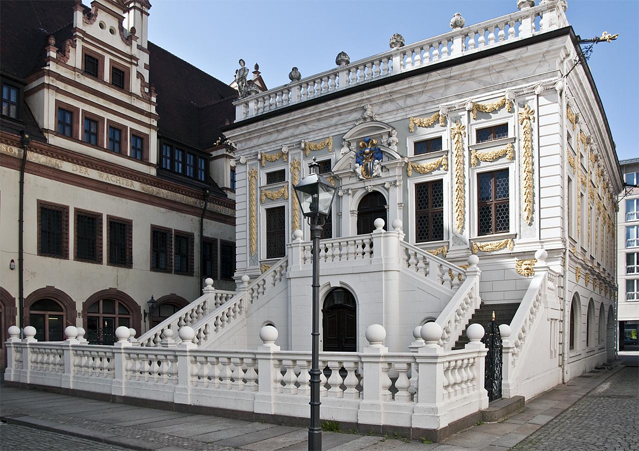 barocke architektur in leipzig. Black Bedroom Furniture Sets. Home Design Ideas
