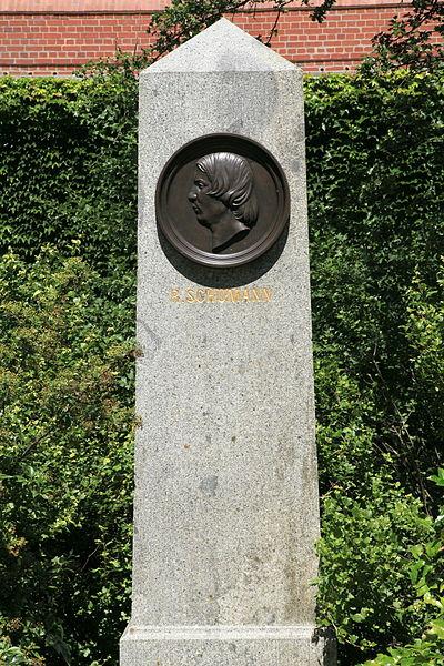 Bild Robert Schumann Denkmal Leipzig