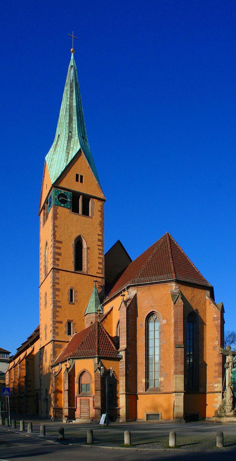 Bild Leonhardskirche Stuttgart