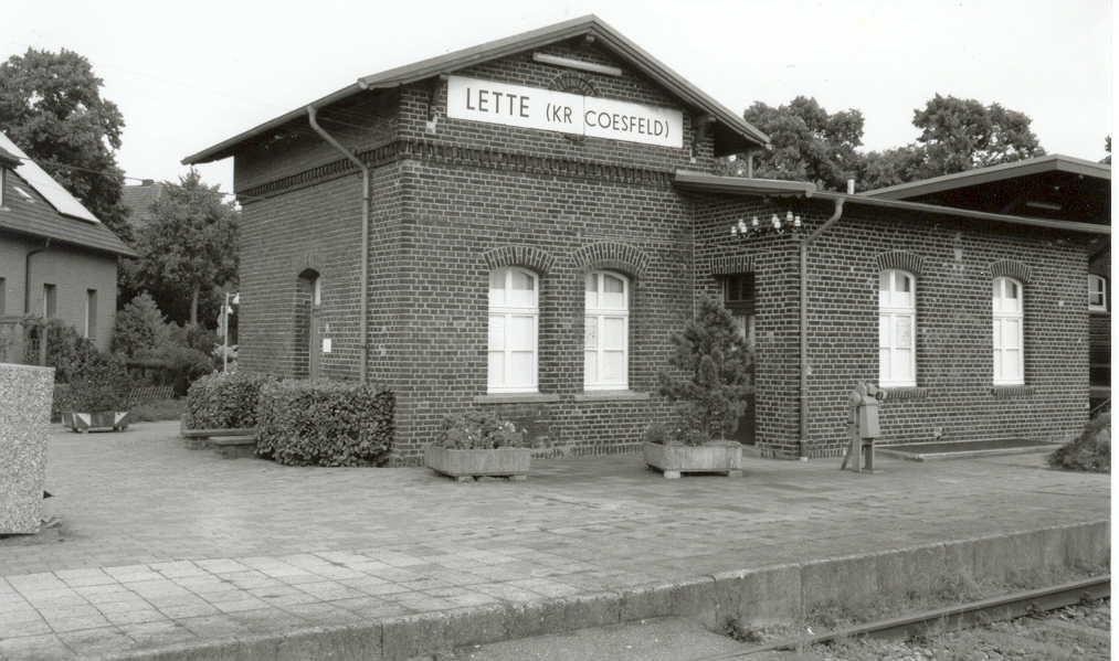 Bild Alter Bahnhof Lette