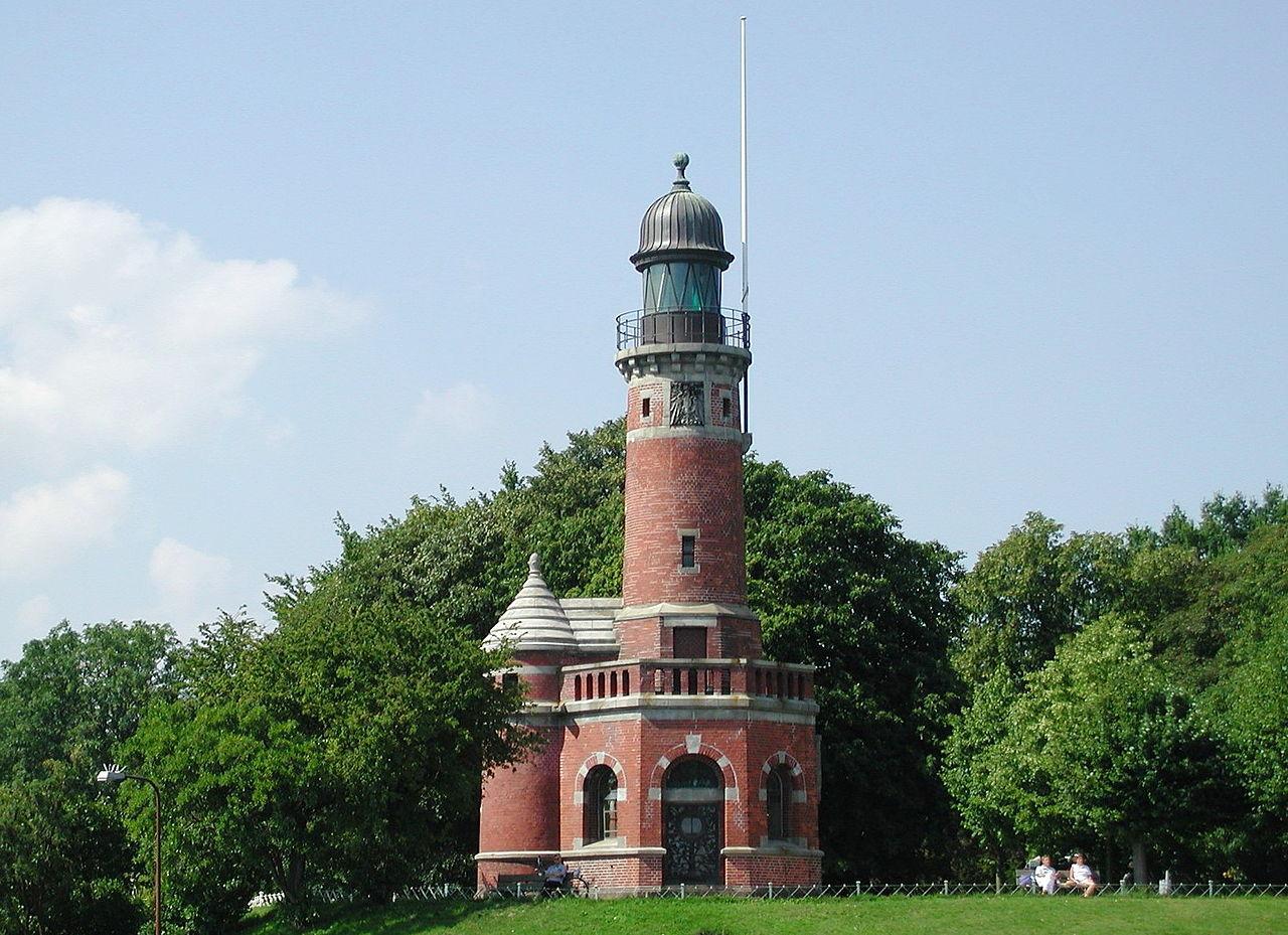 Bild Leuchtturm Kiel Holtenau
