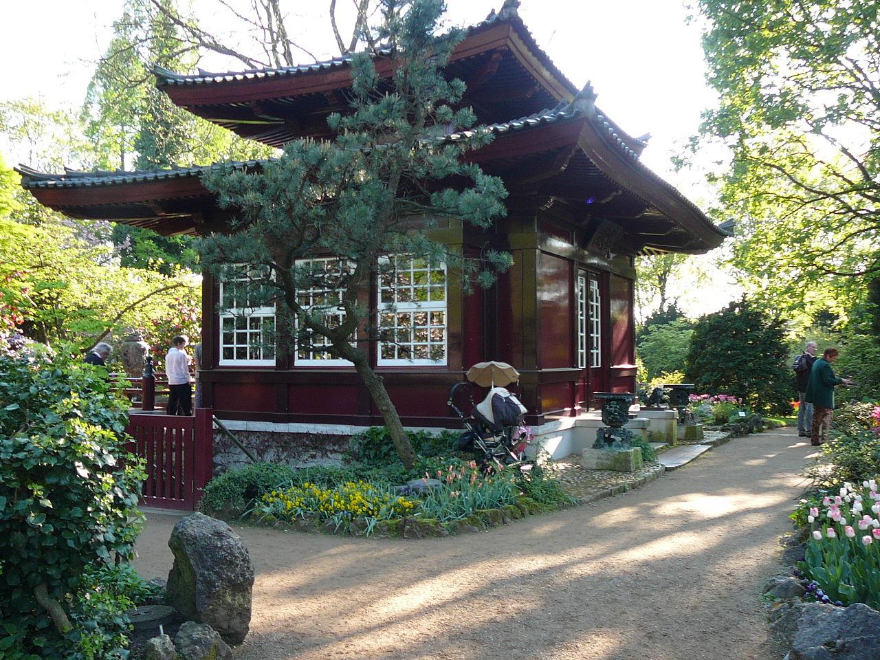 Bild Japanischer Garten Leverkusen