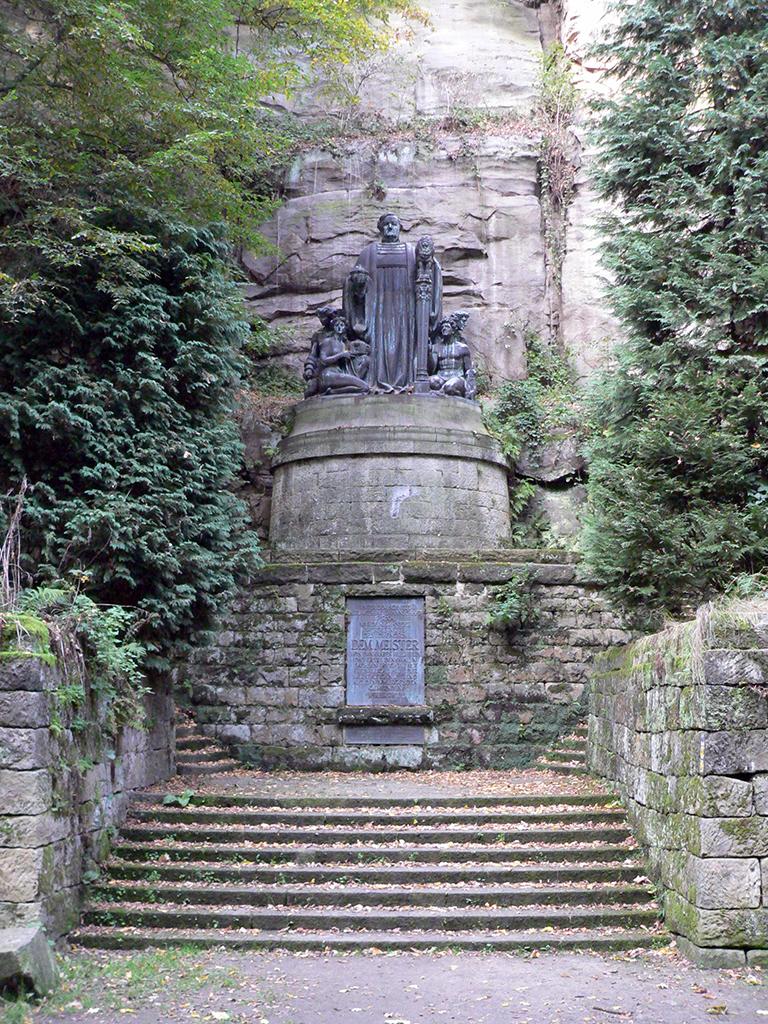 Bild Wagner Denkmal Liebethaler Grund