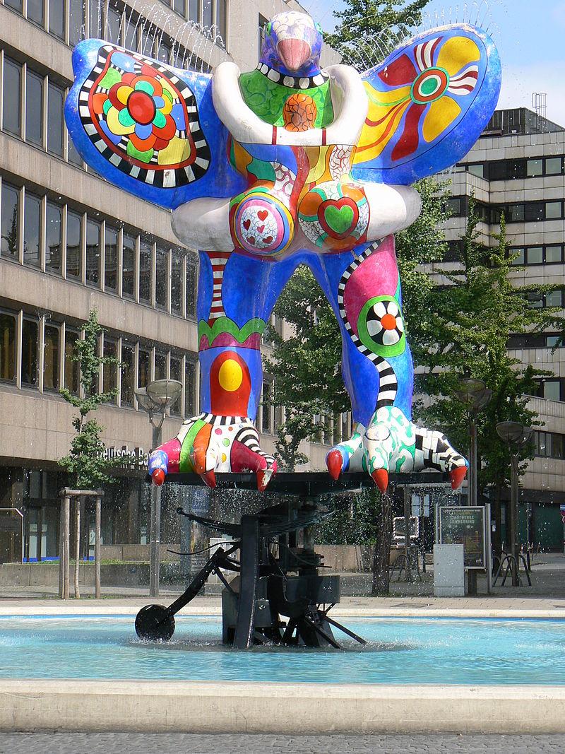 Bild Lifesaverbrunnen Duisburg