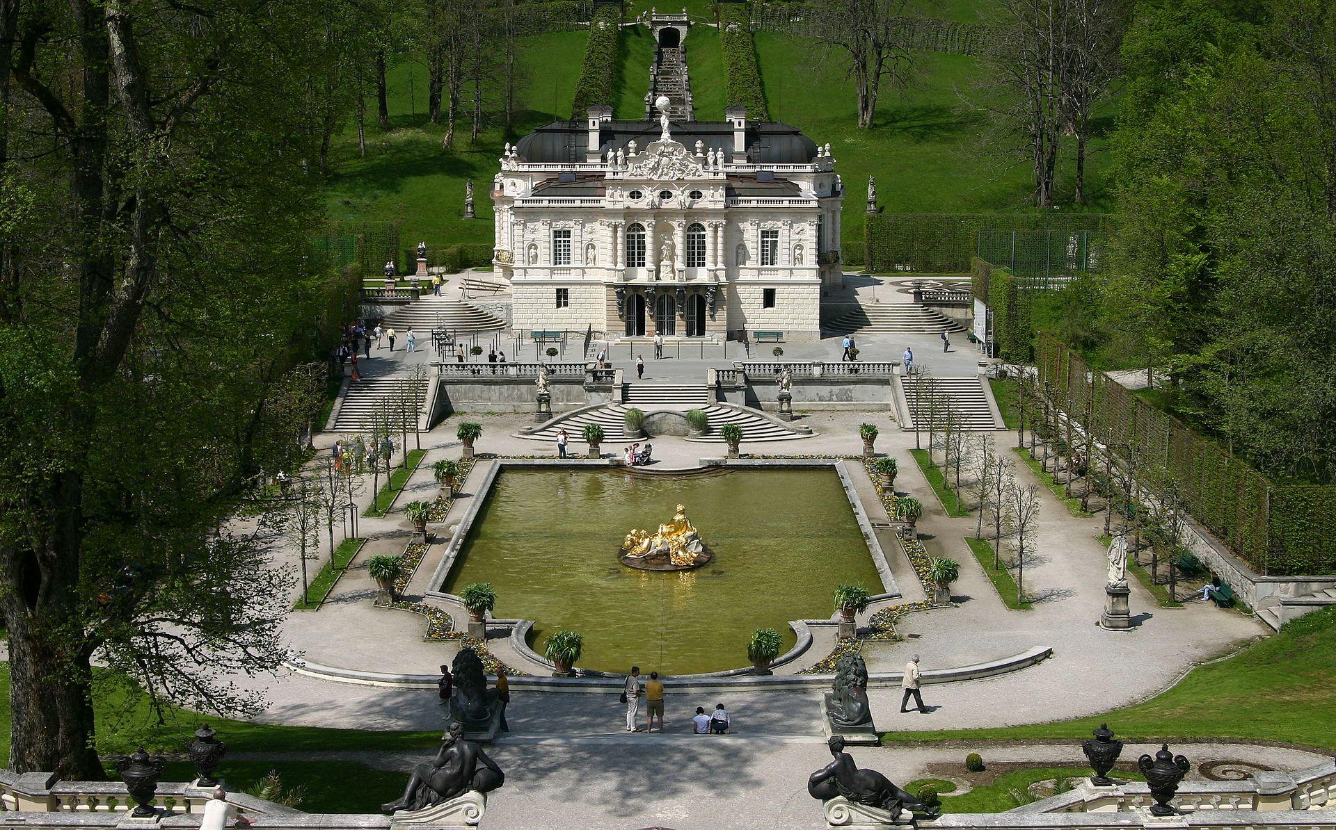 Bild Schloss Linderhof