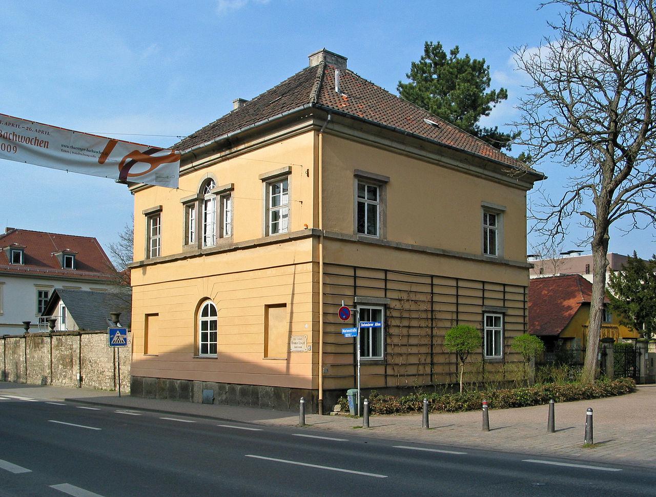 Bild Franz Liszt Haus Weimar