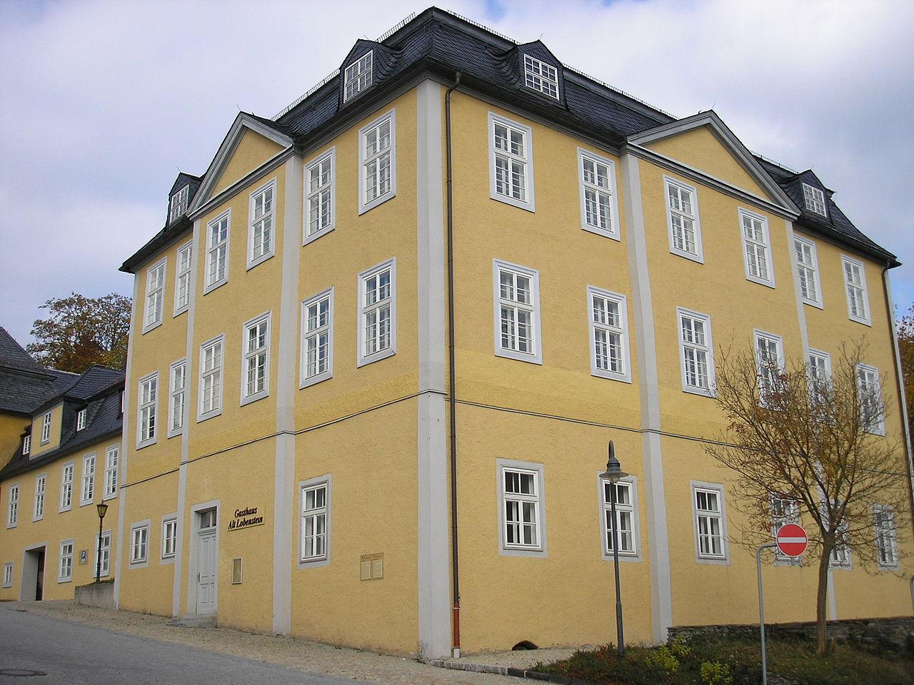 Bild Neues Schloss Bad Lobenstein