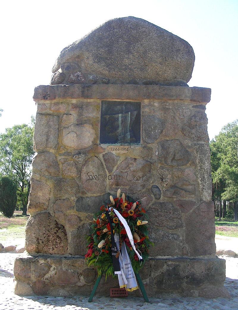Bild Hermann Löns Denkmal Münden
