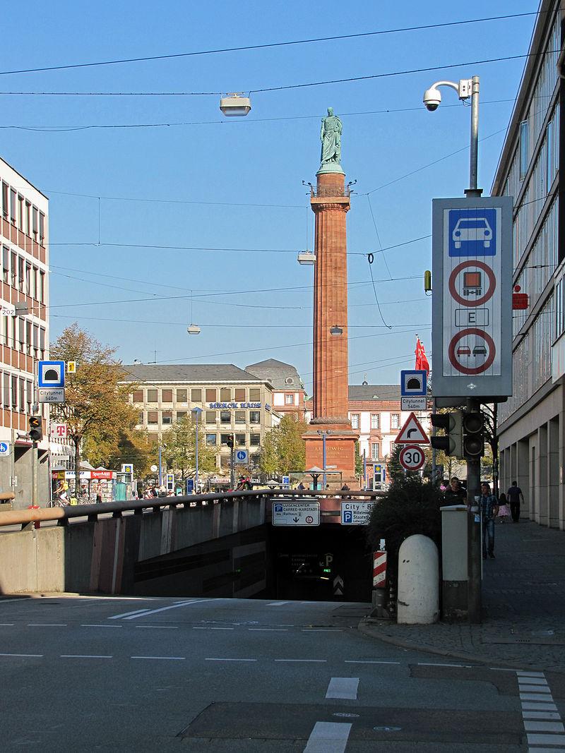 Bild Ludwigsmonument Darmstadt
