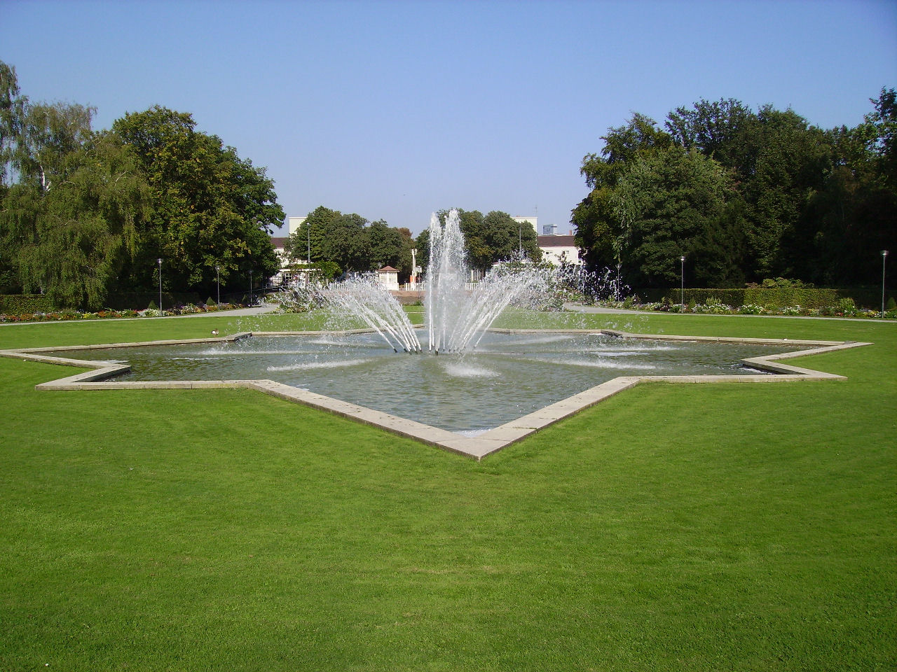 Bild Ebertpark Ludwigshafen