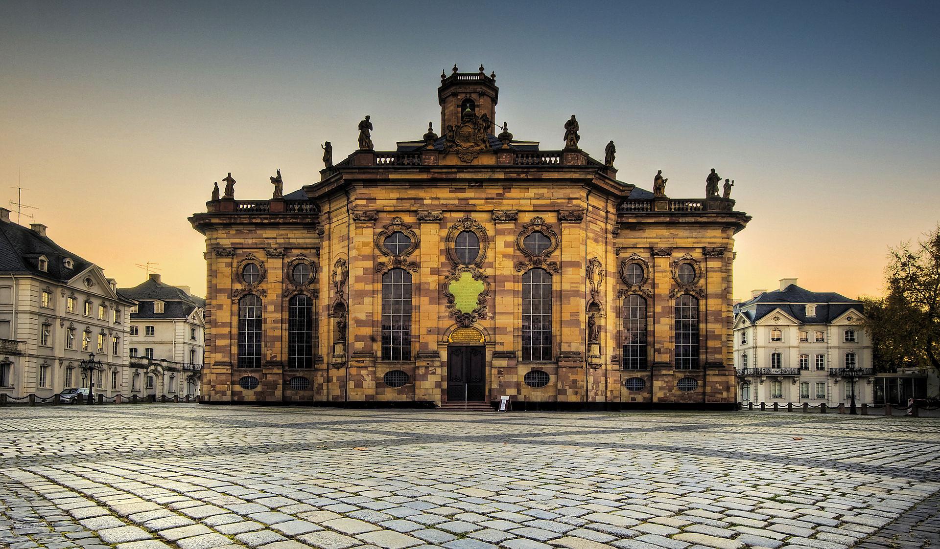 Bild Ludwigskirche Saarbrücken